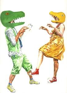 T-rexUtahraptor
