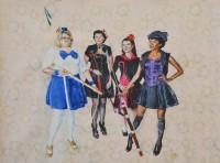 Sherlock Magical Girls